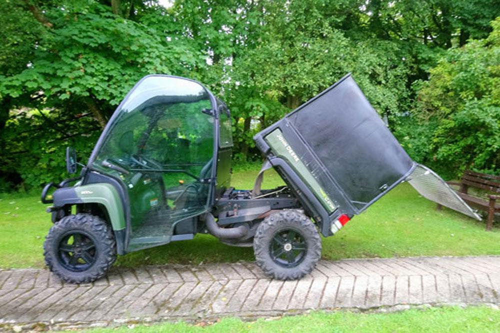 John Deere Gator Utility Vehicle 2012 R W Brown